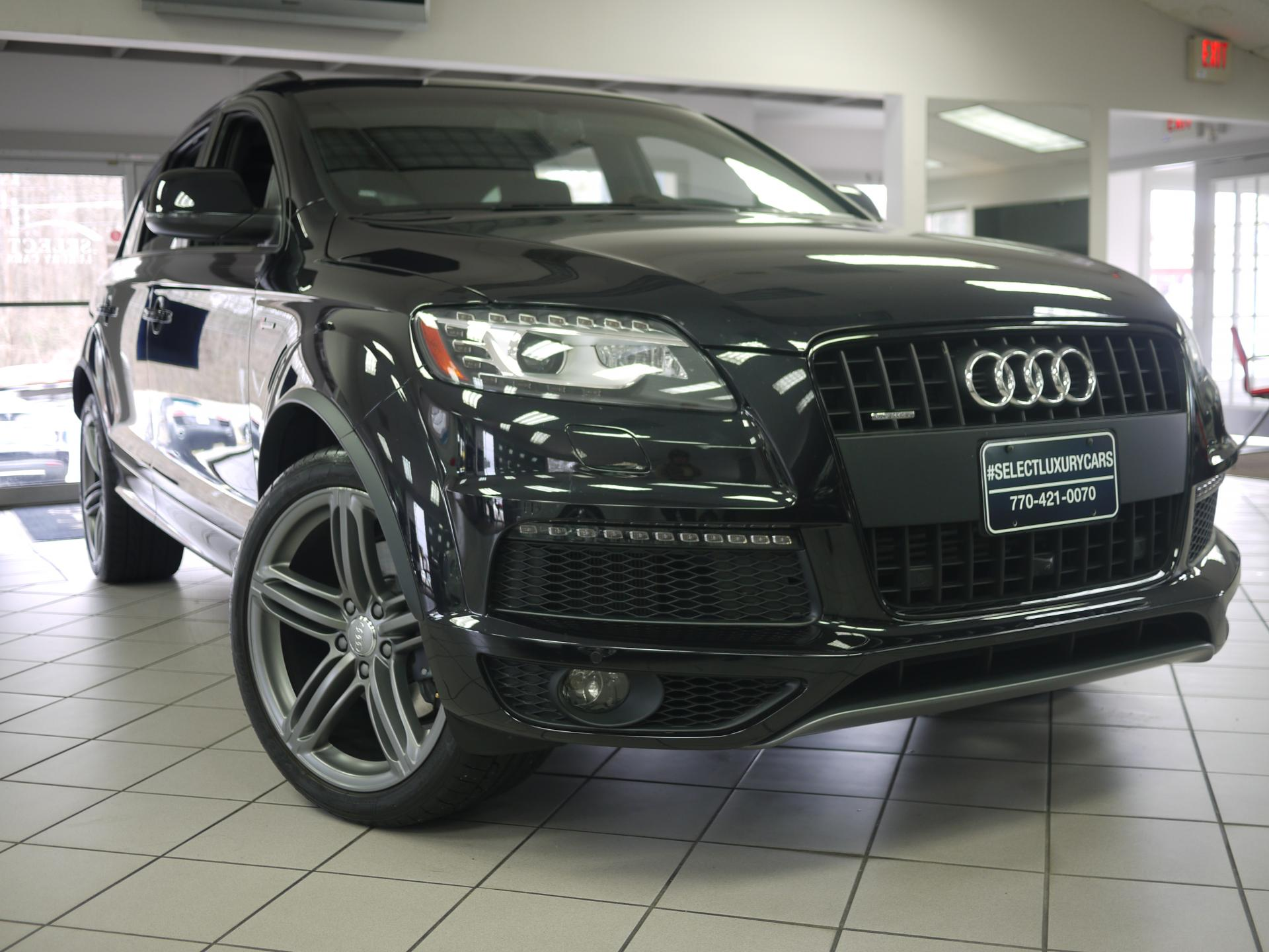 used 2015 audi q7 3 0t s line prestige marietta ga. Black Bedroom Furniture Sets. Home Design Ideas