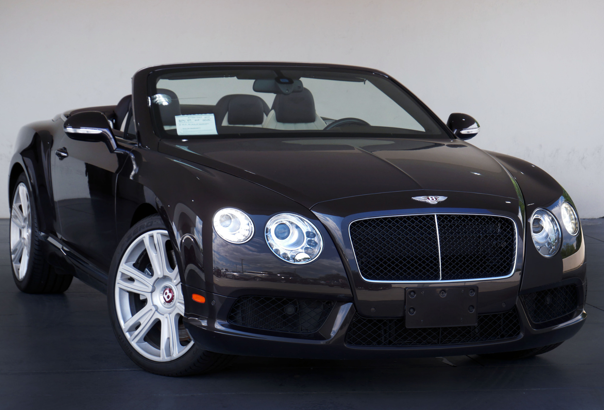 2013 Bentley Continental GTC GT V8 Convertible