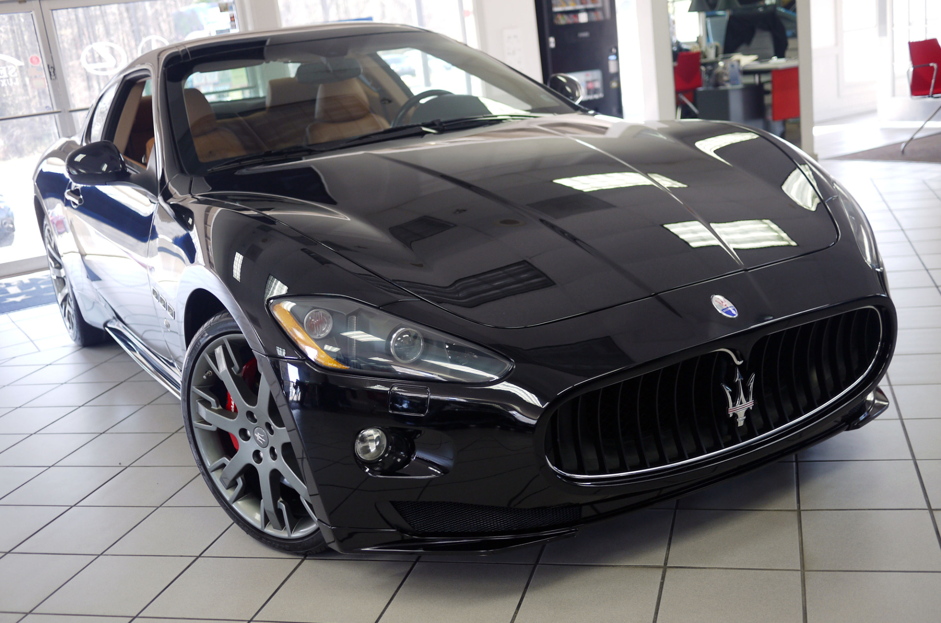 used 2012 maserati granturismo s marietta ga. Black Bedroom Furniture Sets. Home Design Ideas