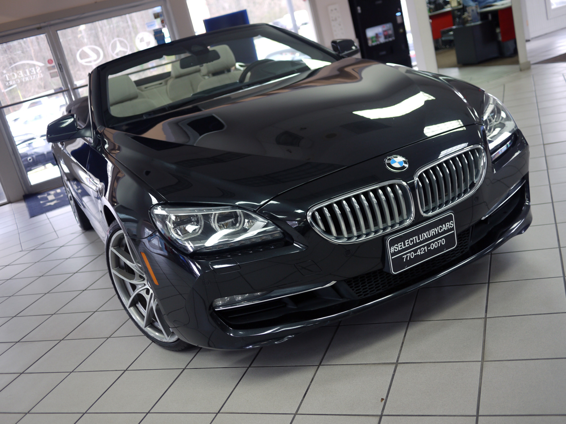 Used 2013 Bmw 6 Series 650i Xdrive Marietta Ga