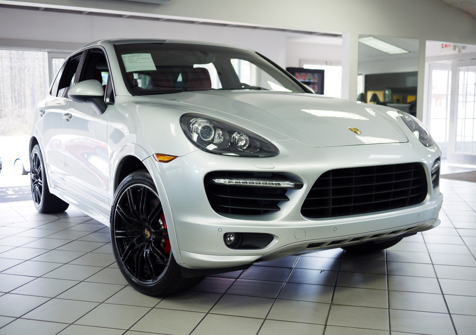 used 2014 porsche cayenne turbo marietta ga. Black Bedroom Furniture Sets. Home Design Ideas