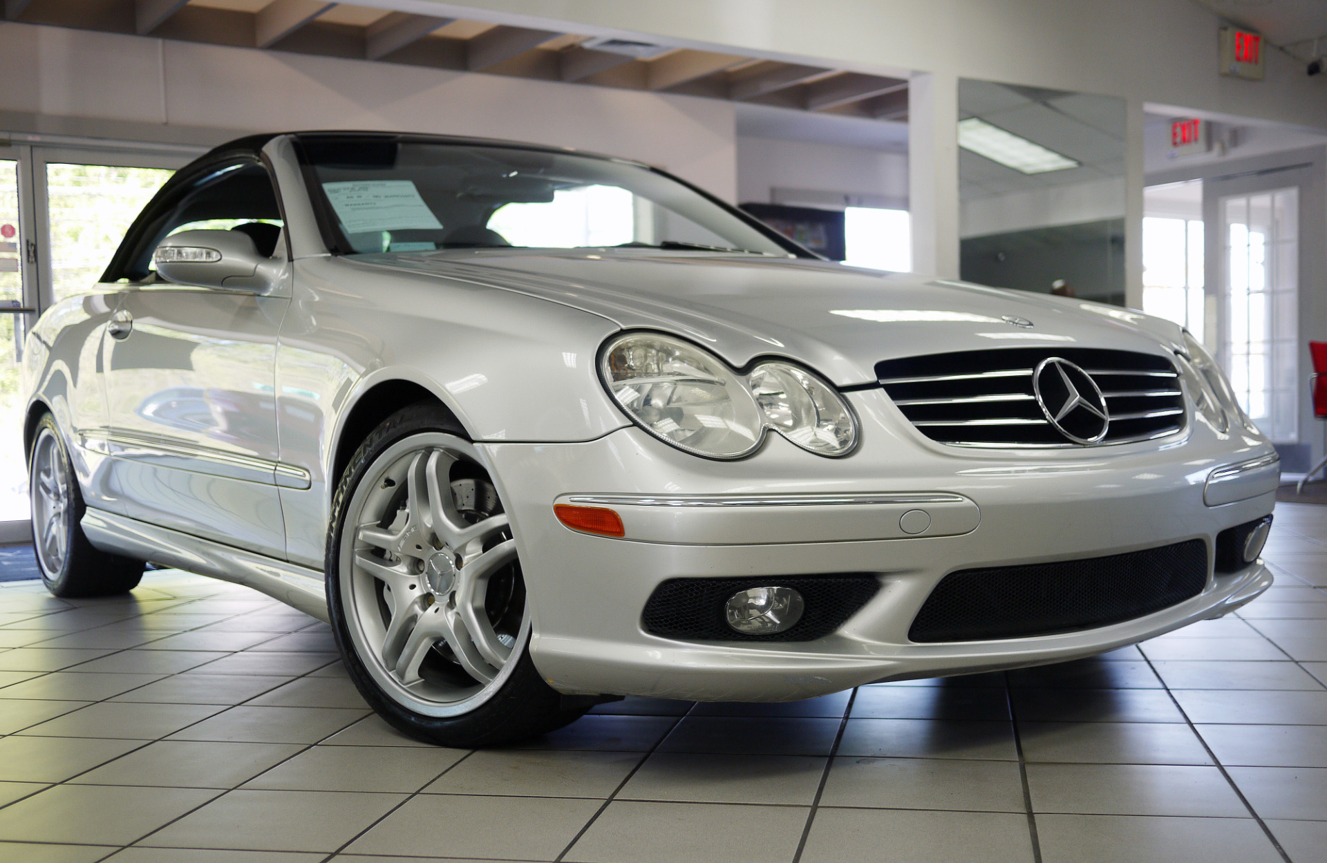 used 2005 mercedes benz clk class clk55 amg marietta ga. Black Bedroom Furniture Sets. Home Design Ideas