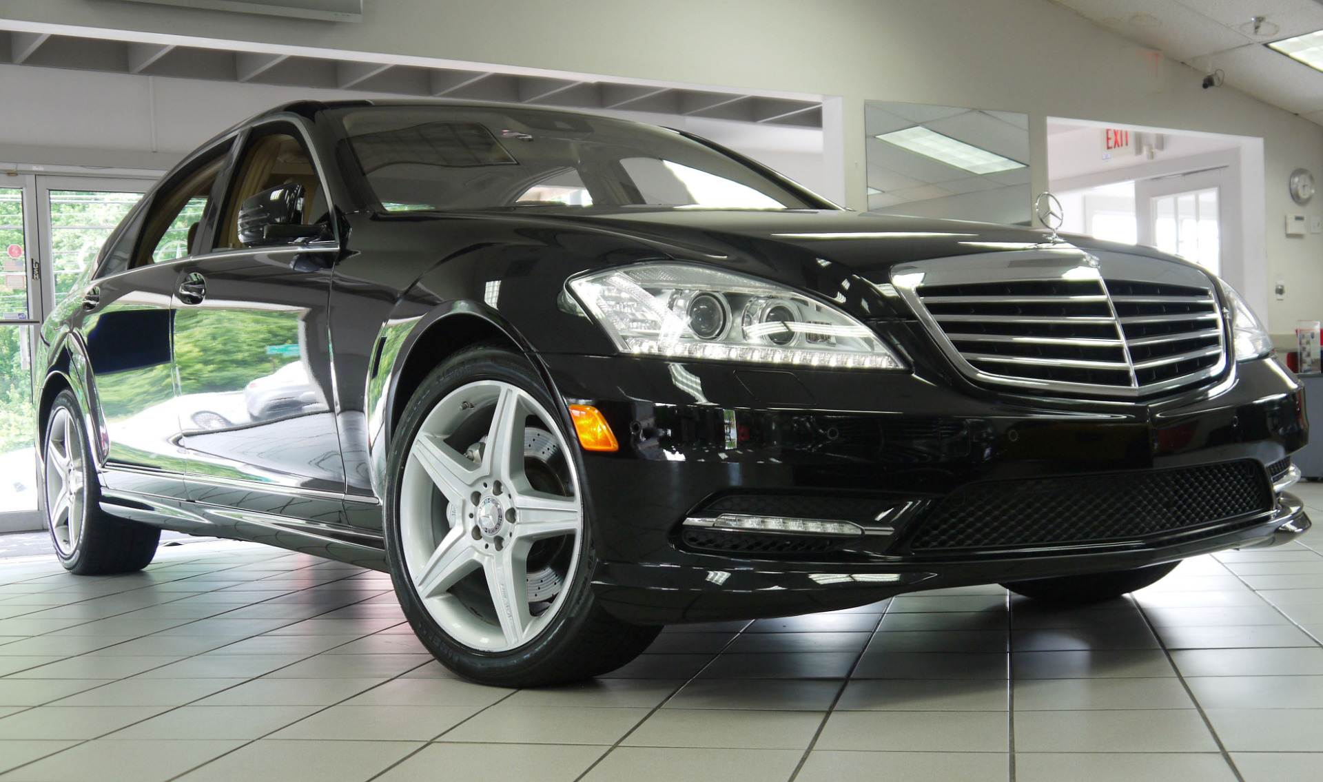 Used 2010 mercedes benz s class s550 marietta ga for Used s class mercedes benz