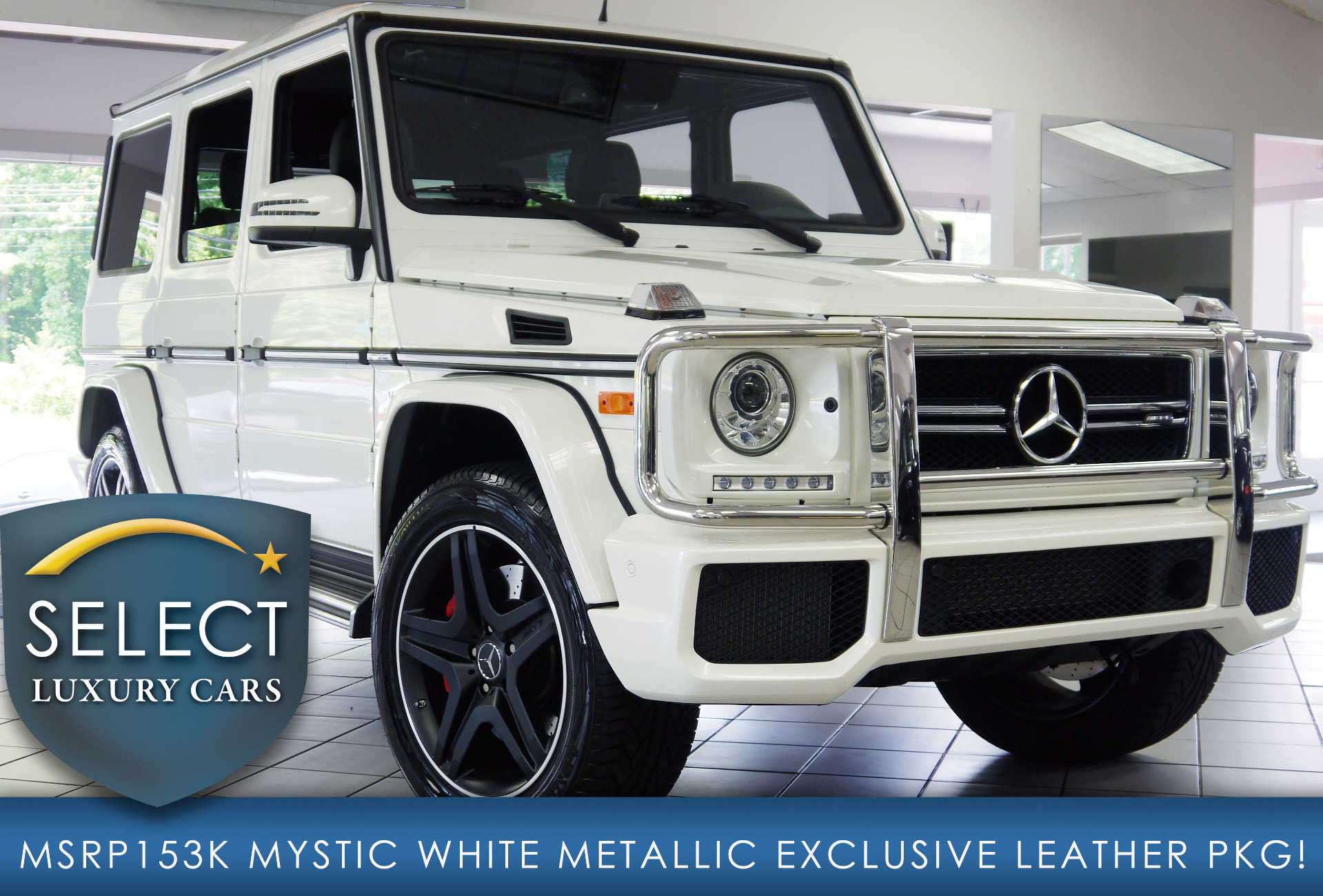 Used 2016 Mercedes Benz G Class G63 AMG
