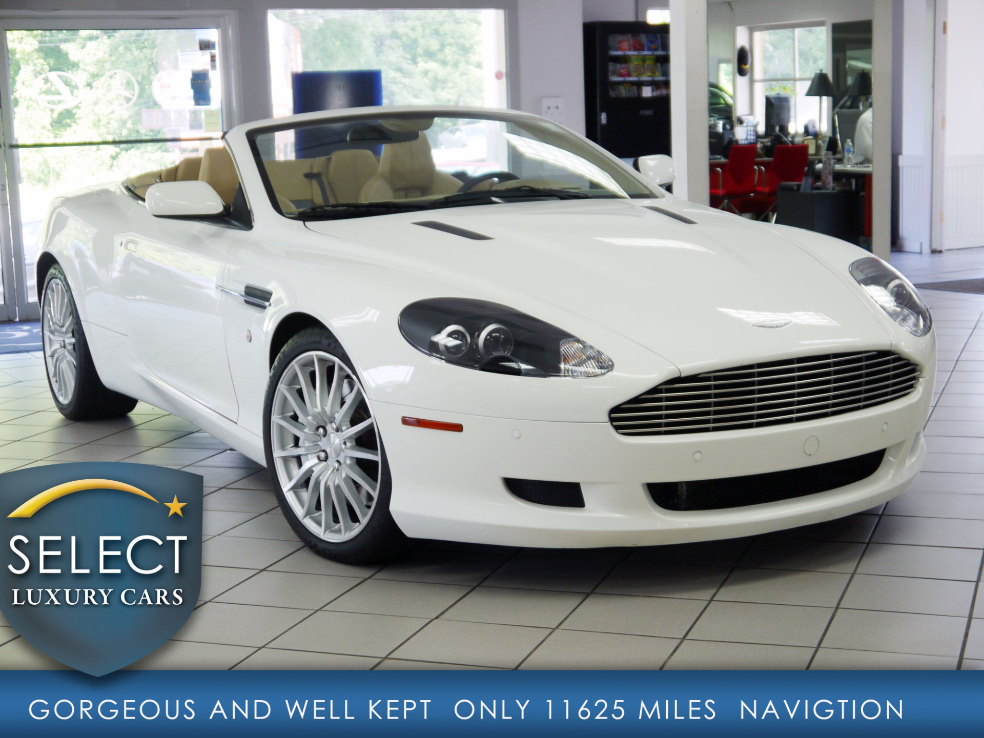 used 2008 aston martin db9 volante marietta ga. Black Bedroom Furniture Sets. Home Design Ideas