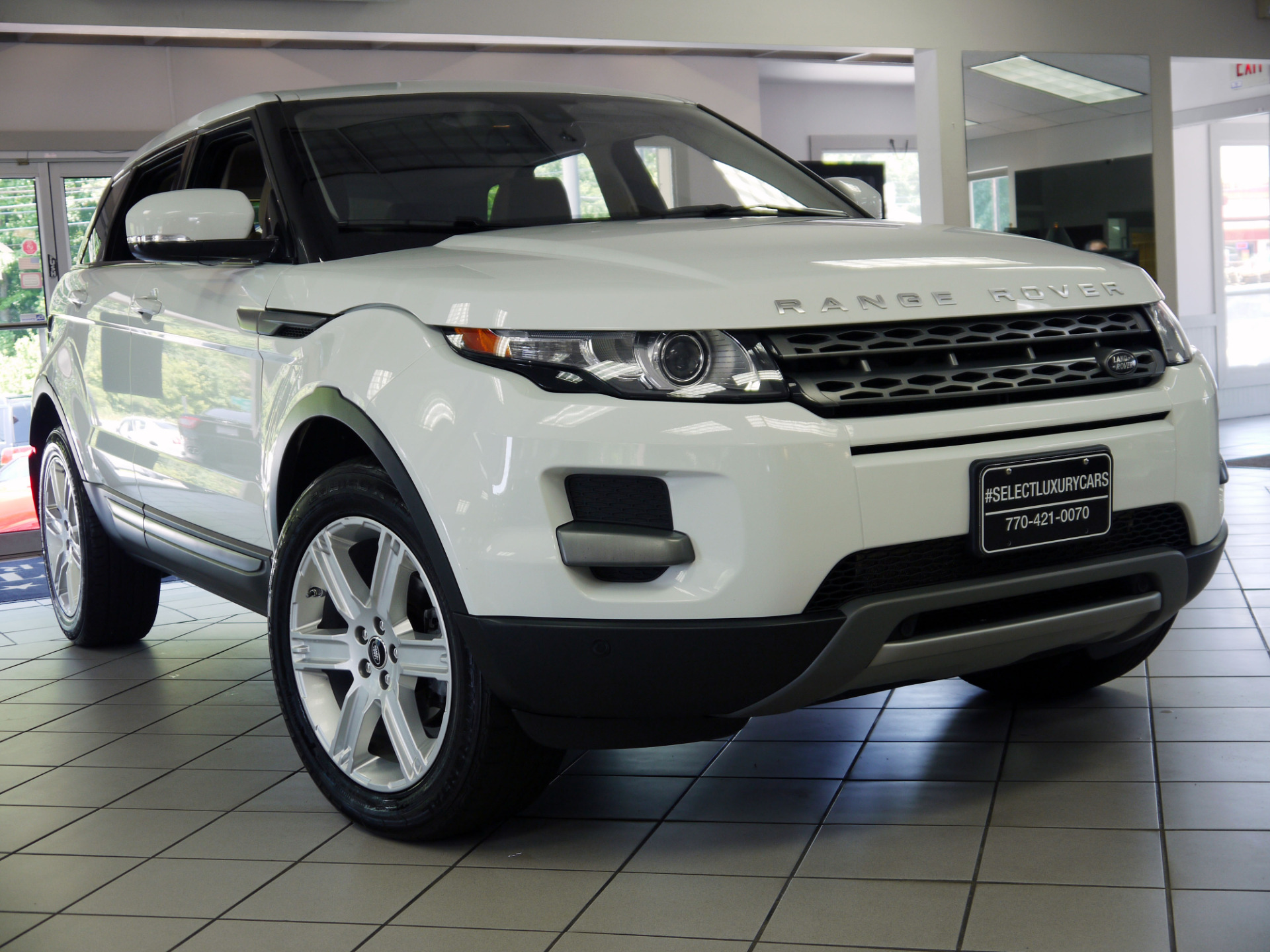 used 2013 land rover range rover evoque pure marietta ga. Black Bedroom Furniture Sets. Home Design Ideas