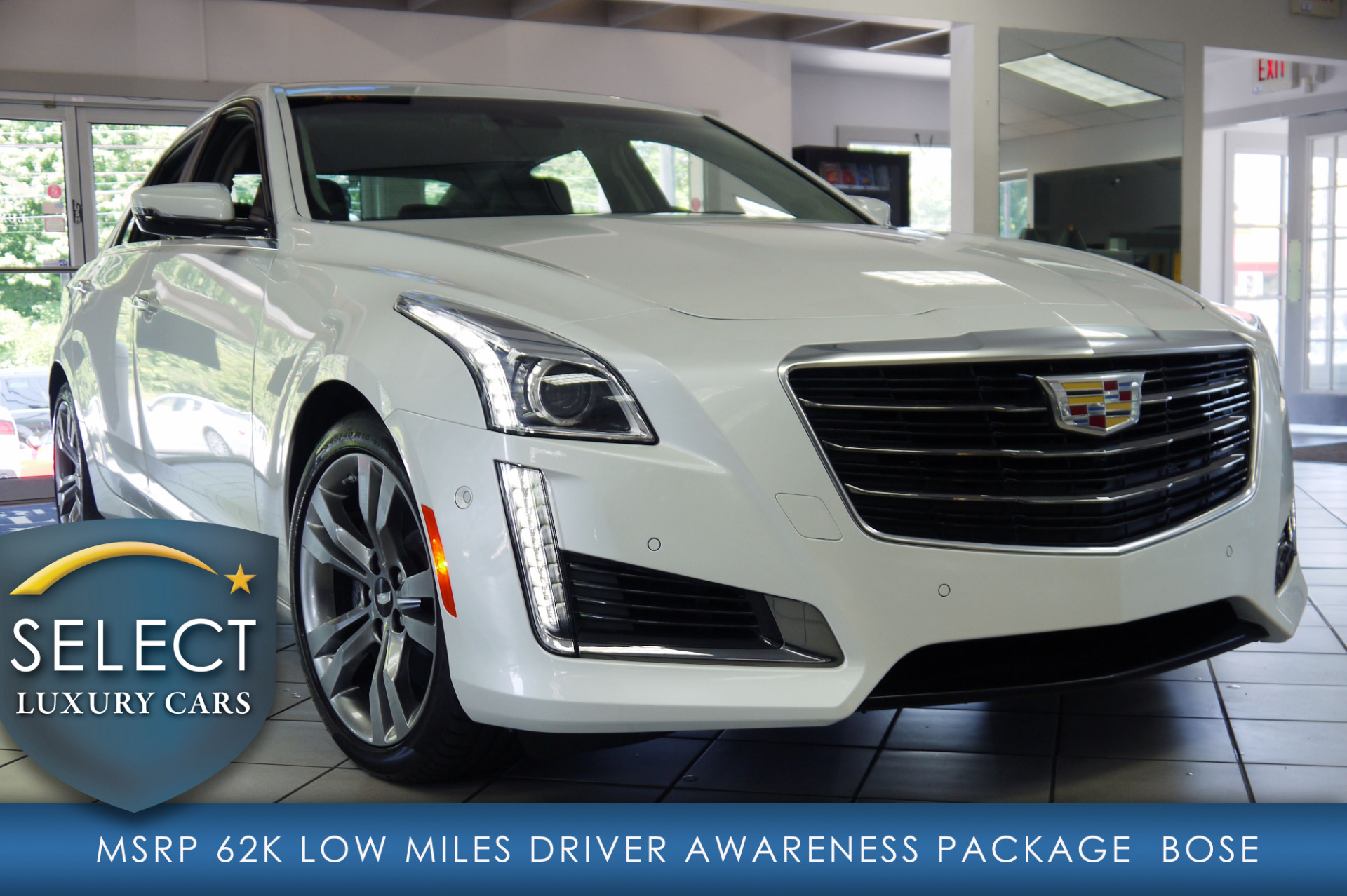 used 2016 cadillac cts v 3 6l marietta ga. Black Bedroom Furniture Sets. Home Design Ideas
