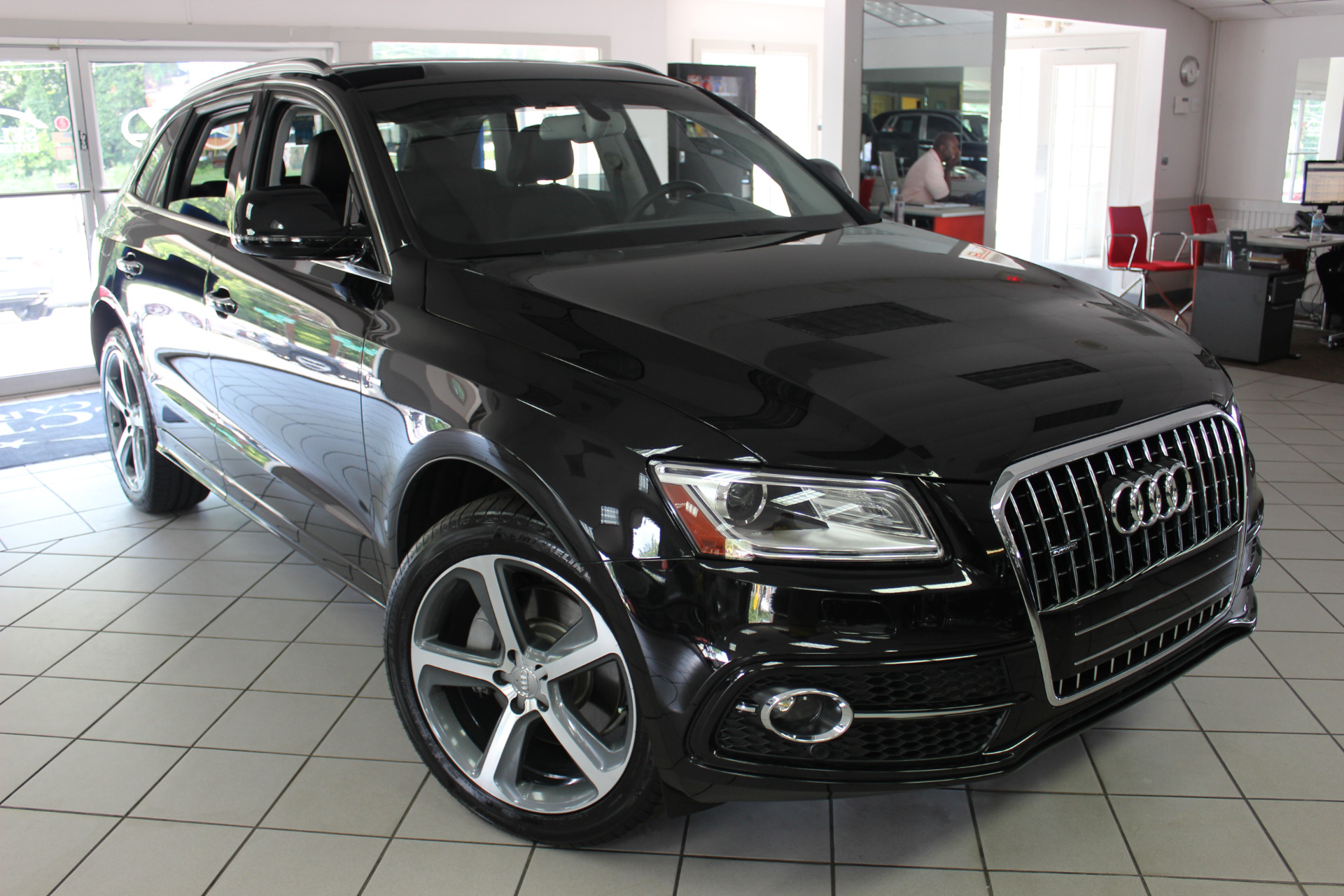 used 2016 audi q5 3 0t premium plus marietta ga. Black Bedroom Furniture Sets. Home Design Ideas