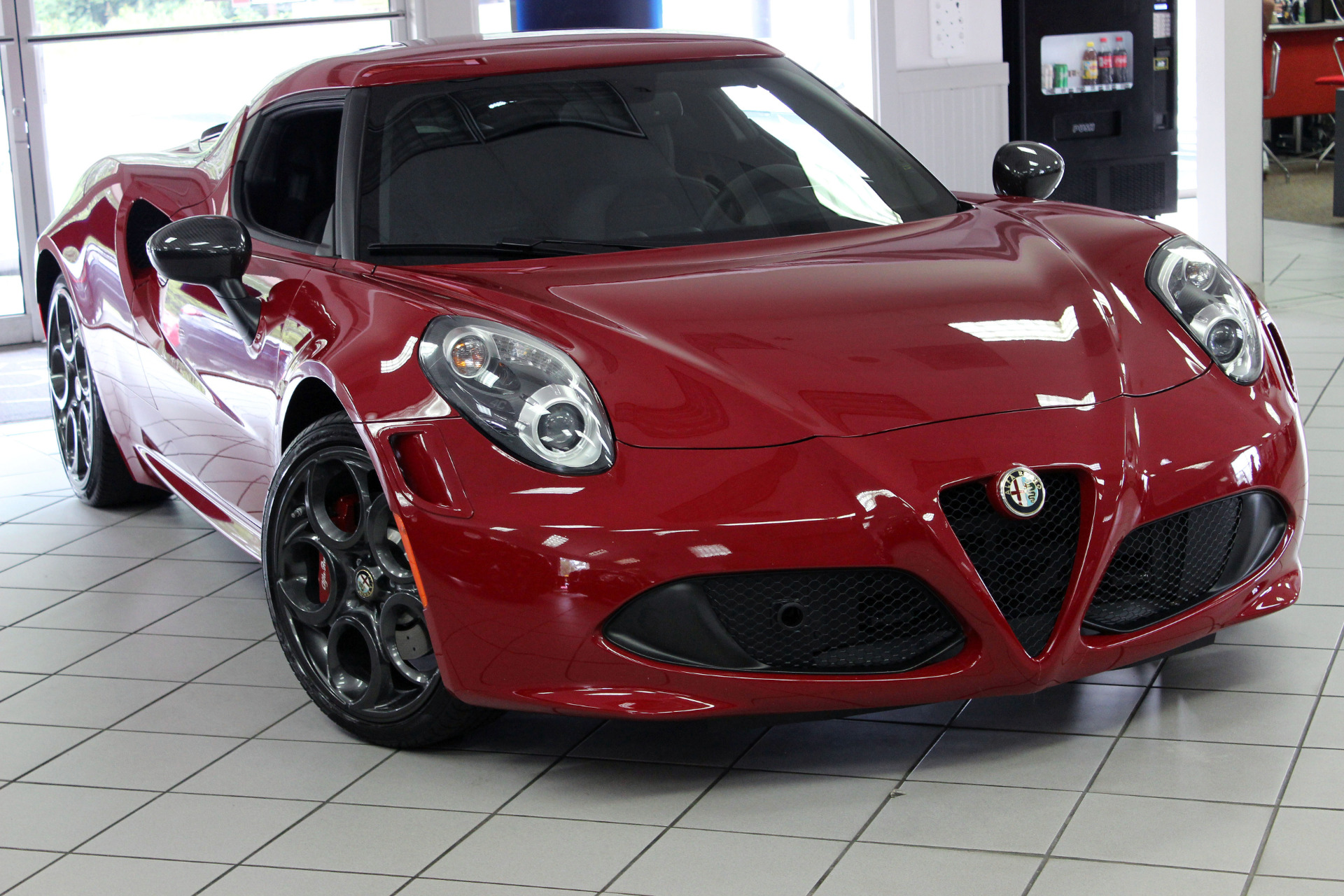 used 2015 alfa romeo 4c launch edition marietta ga. Black Bedroom Furniture Sets. Home Design Ideas