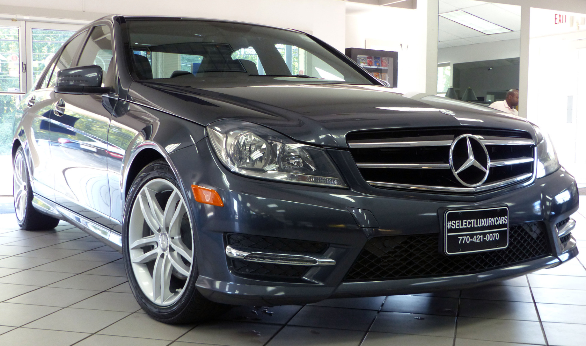 used 2014 mercedes benz c class c250 marietta ga. Black Bedroom Furniture Sets. Home Design Ideas
